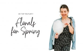 Flirty Florals for Spring