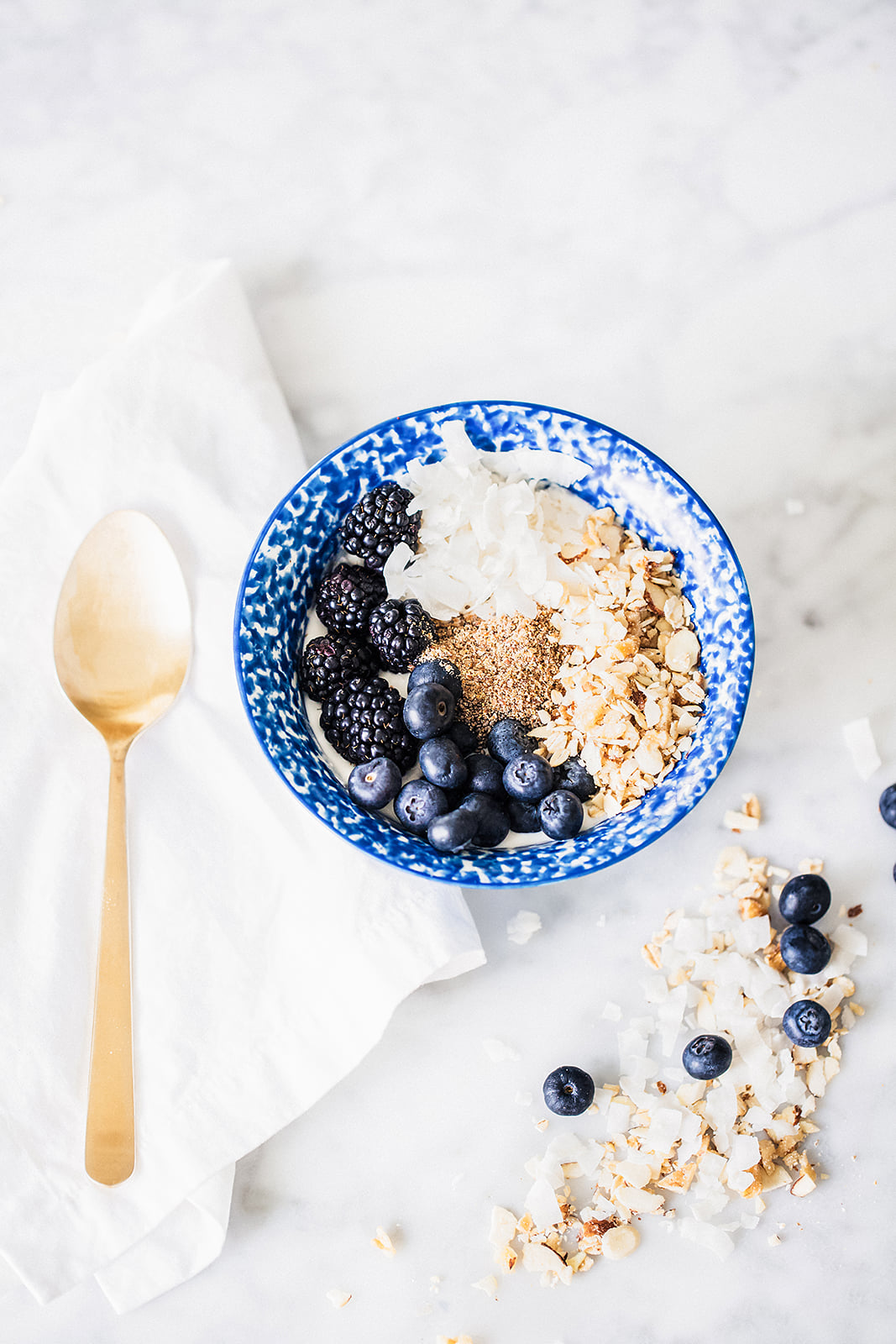 No Processed Sugar: Granola Bowl Recipe and Nutritional Facts