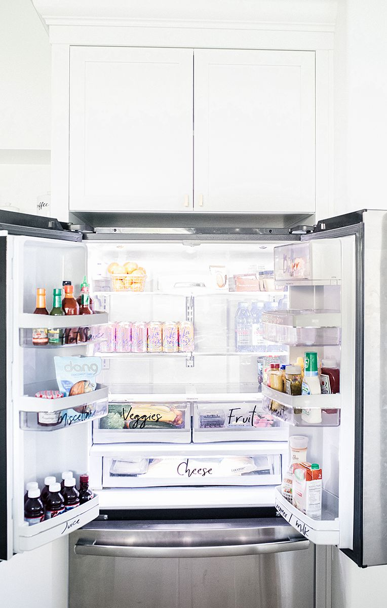 One easy way to organize your refrigerator