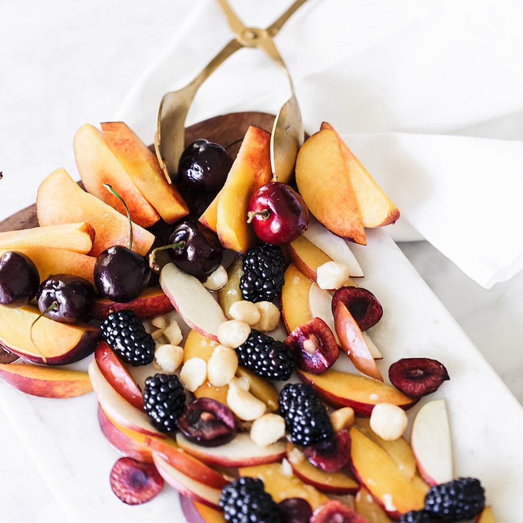 How to make a stone fruit salad for Summer