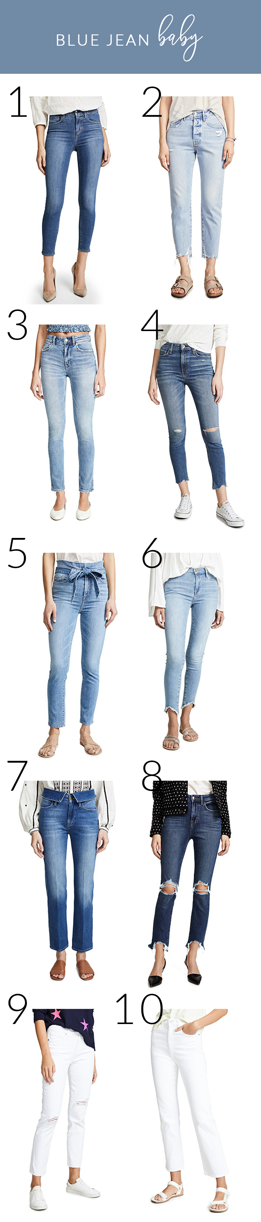 favorite brands of denim