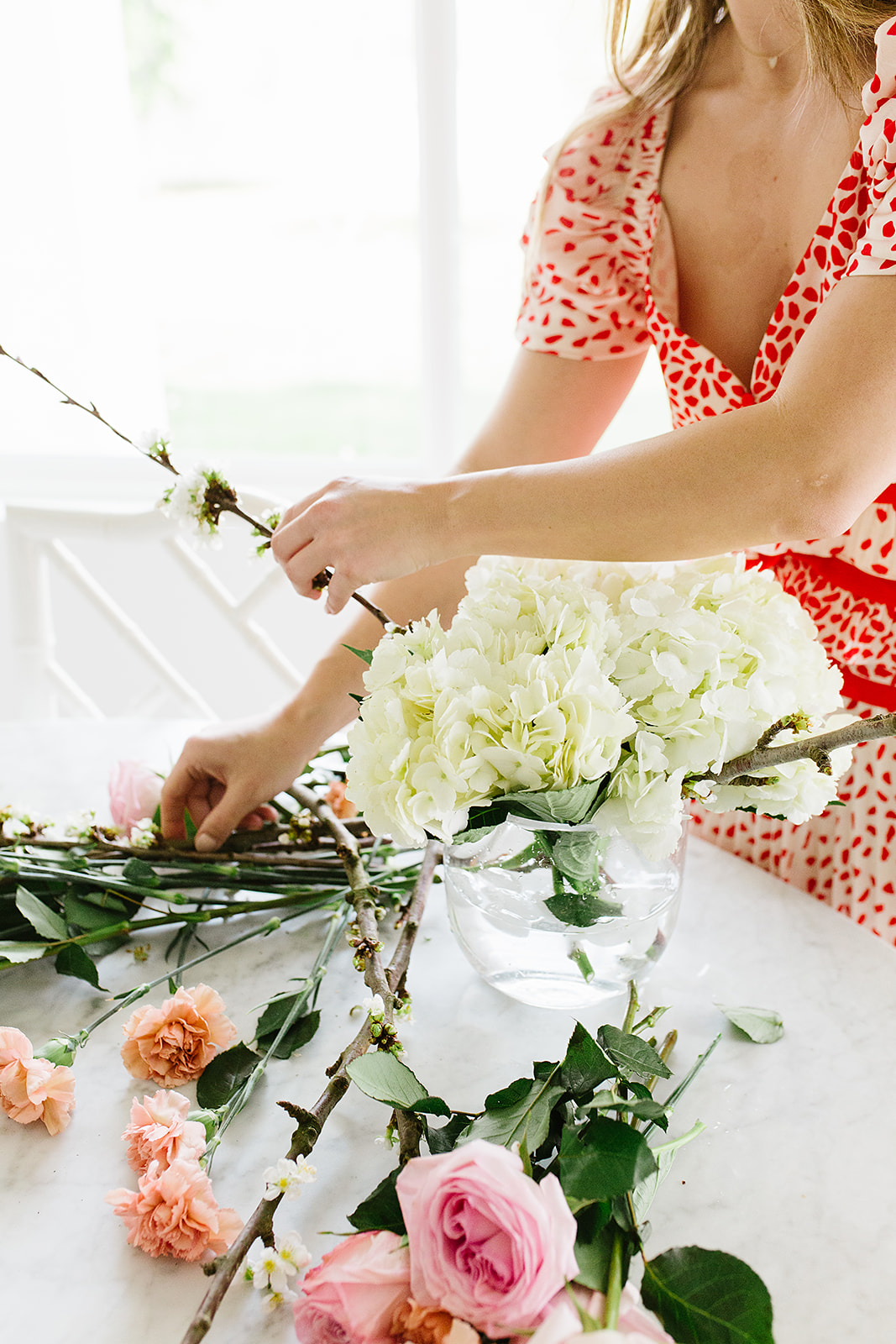 How to make your floral arrangements last longer at home by With Love From Kat