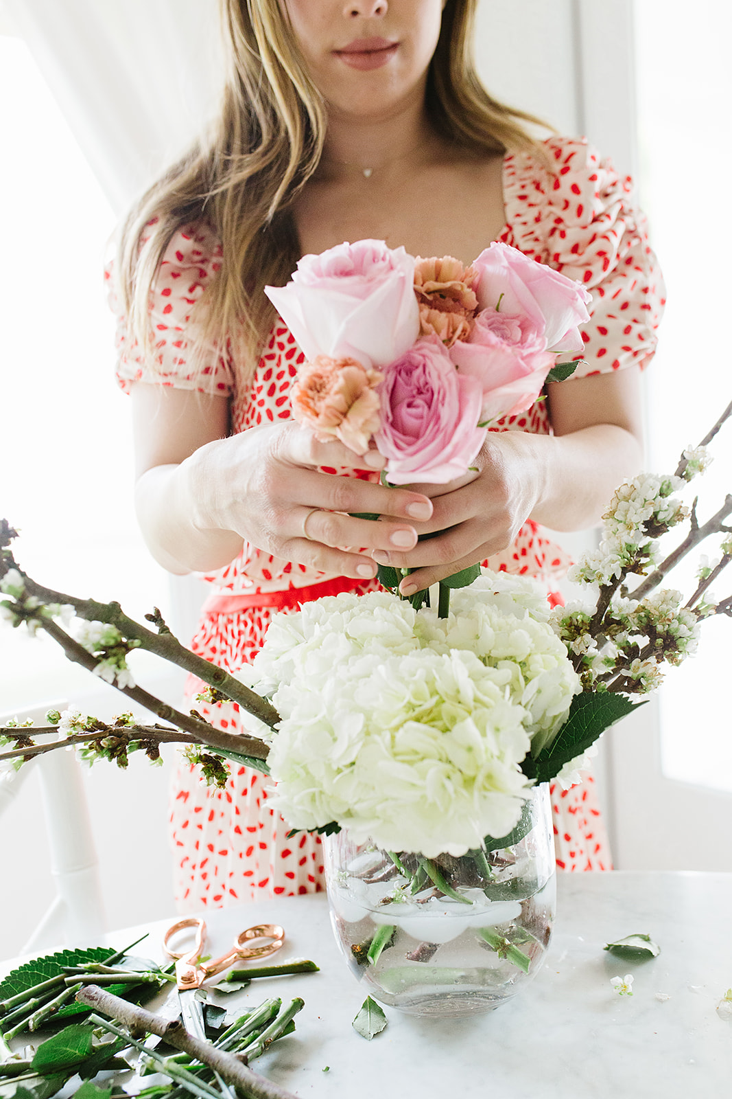 DIY floral arrangements by With Love From Kat