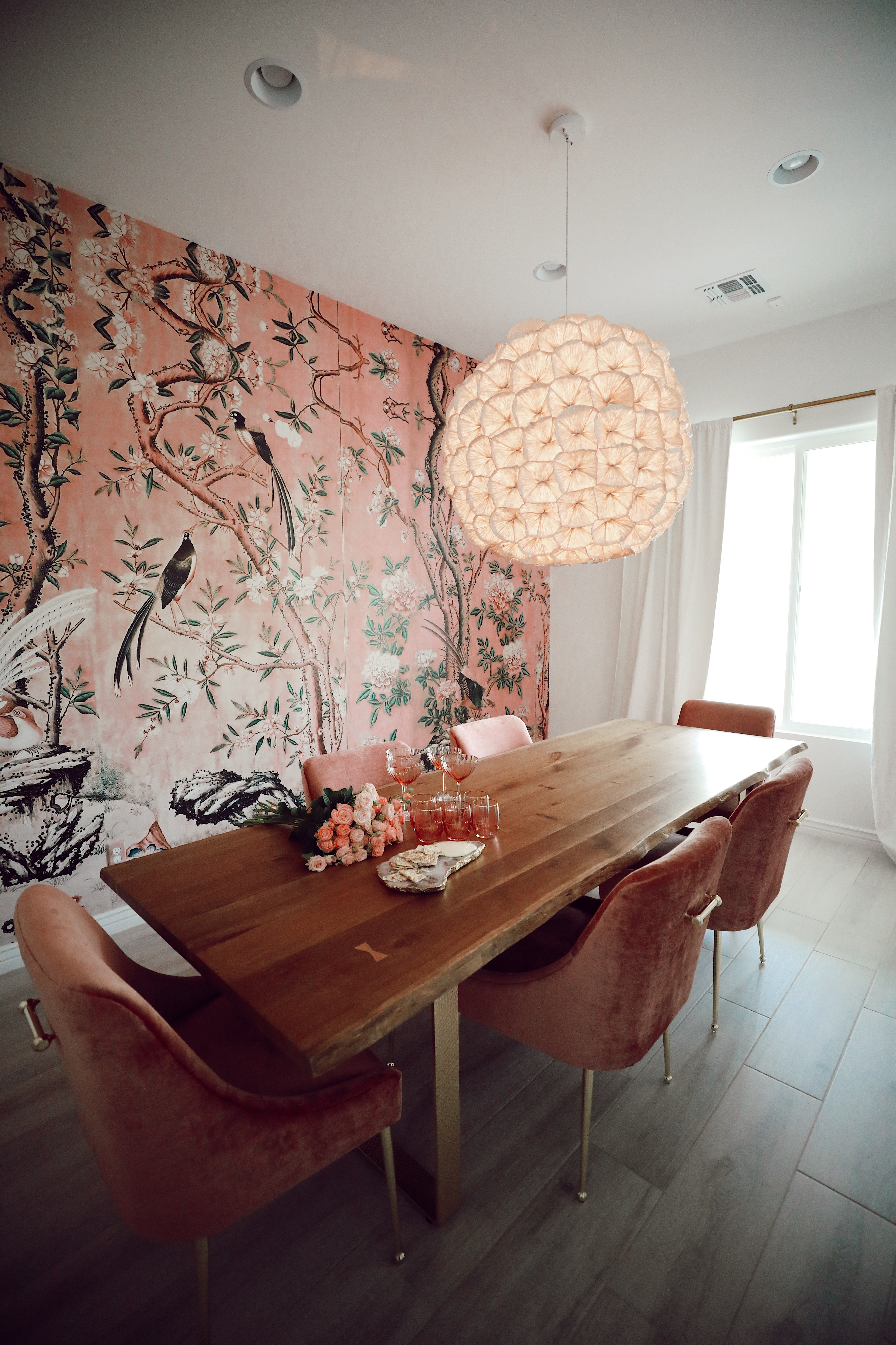 Dining Room Reveal by Cooking With Confetti