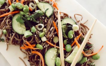 Chilled Asian Noodle Salad Recipe